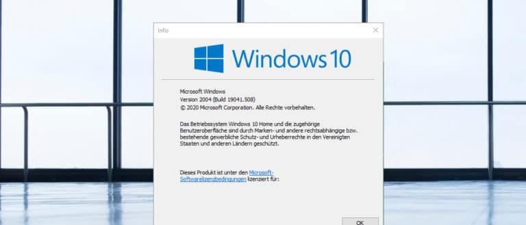 Welche Windows Version habe ich installiert? - BitReporter