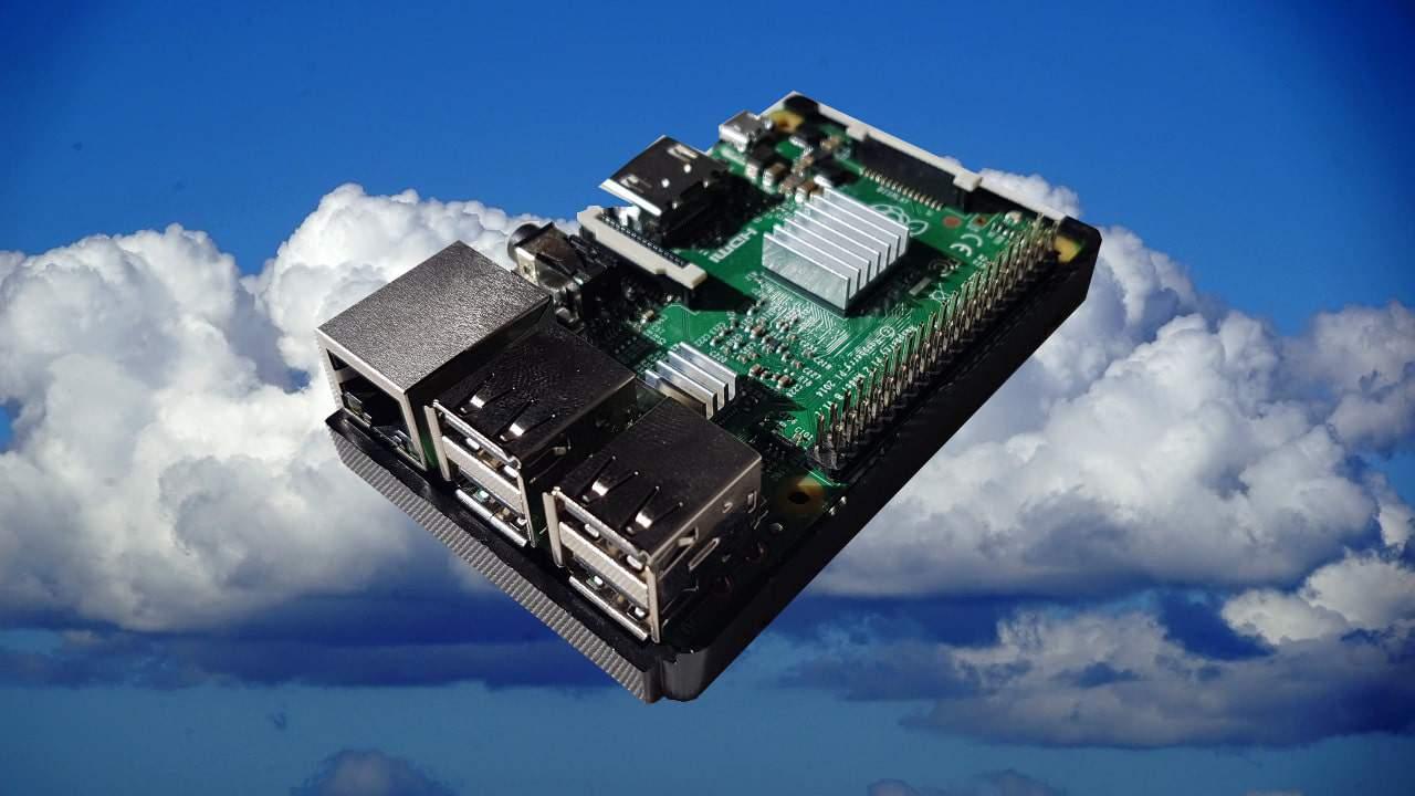 Raspberry Pi Cloud Beitragsbild
