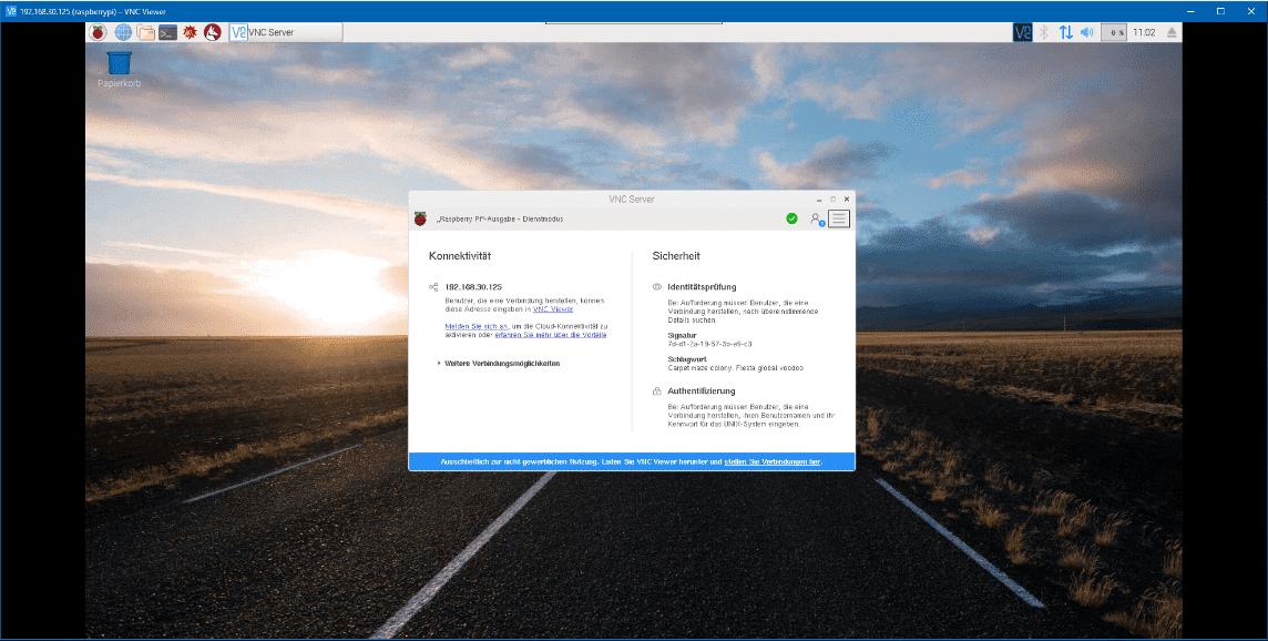 raspi-vnc-desktop