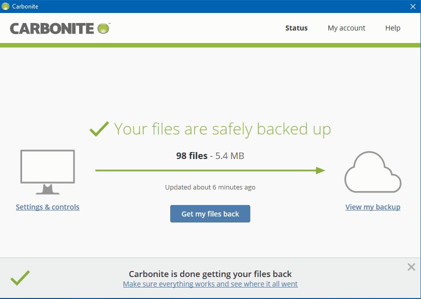 Carbonite Software