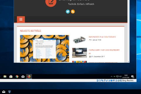 Windows 10 VM Beitragsbild