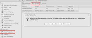 Openmediavault Festplatte löschen