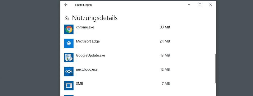 Windows 10 Datennutzungsübersicht Beitragsbild