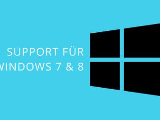 Windows 7 und 8 Unterstützungszeitraum Beitragsbild