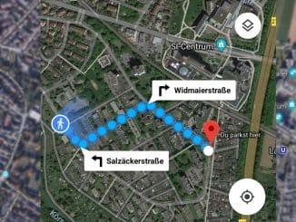 Parkposition in Google Maps speichern Beitragbild