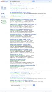 Suchergebnisse mit Startpage