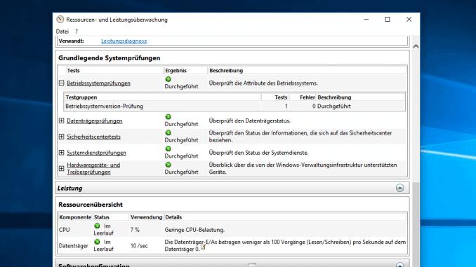Windows 10 Leistungsbericht erzeigen Beitragsbild