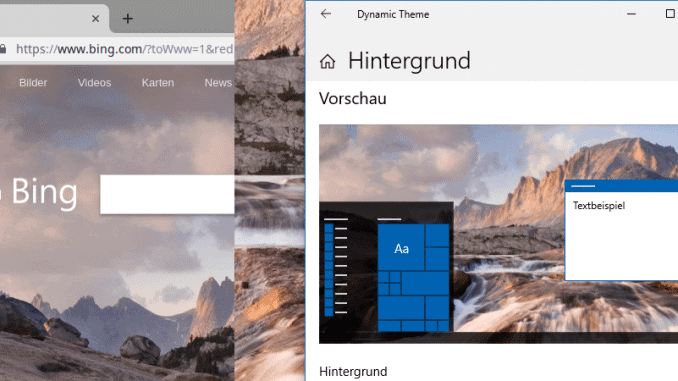 Dynamic Theme App Beitragsbild