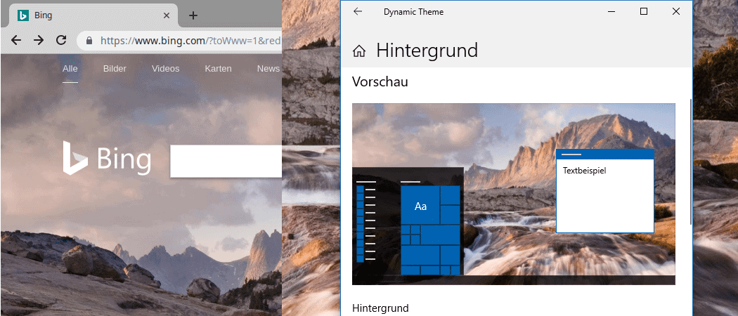 Windows 10 foto app hintergrund