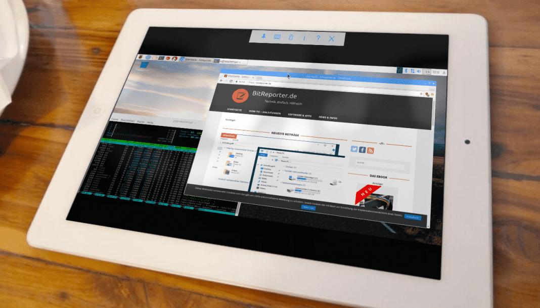 Raspberry Pi mit Tablet fernsteuern Beitragsbild