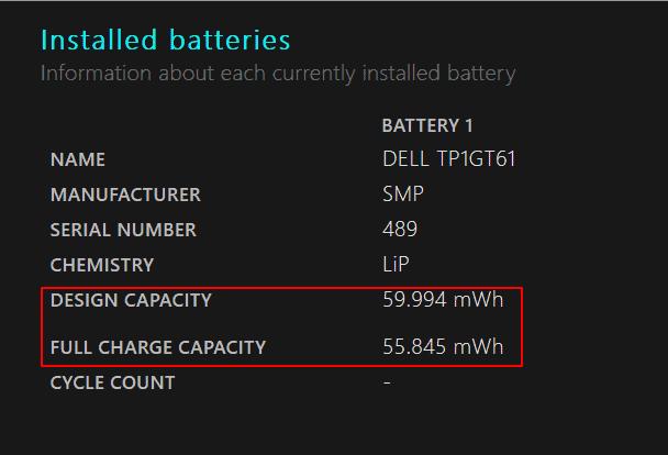 Repost Laptop Akku Kapazität