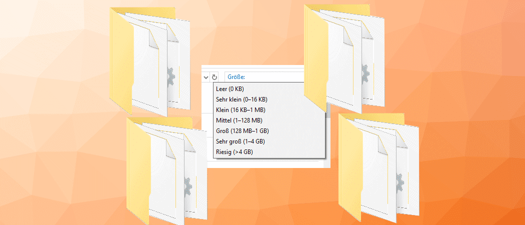 Windows Ordner vor gelbem Hintergrund