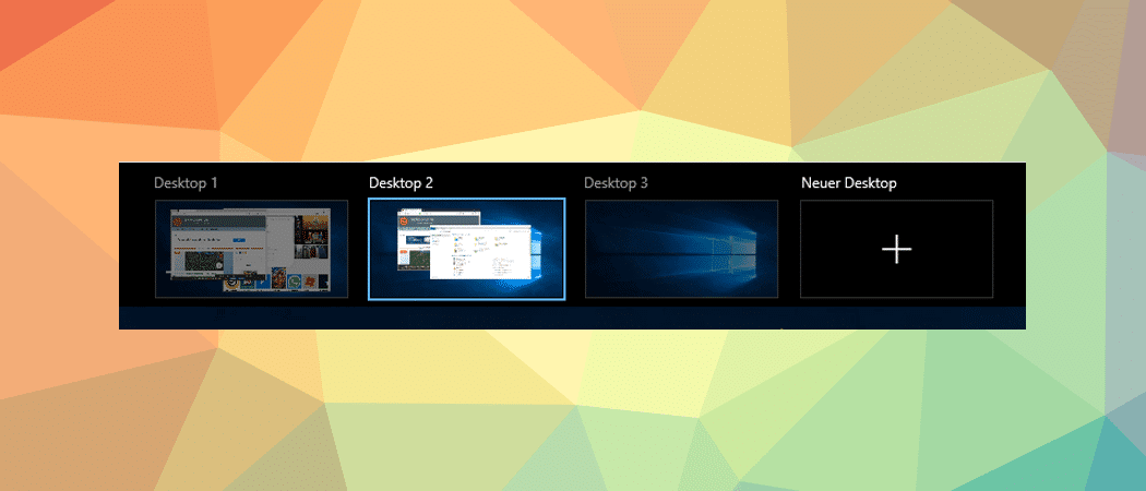 Windows 10 virtuelle Desktops Beitragsbild