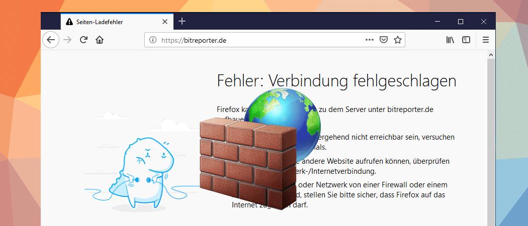 Regel für Windows 10 Firewall erstellen Beitragsbild