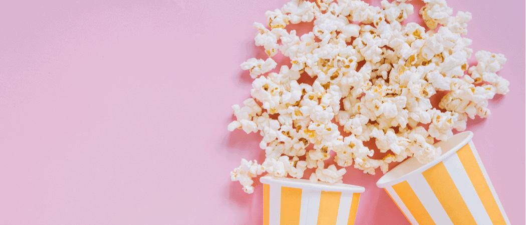 Popcorn Woche Beitrag