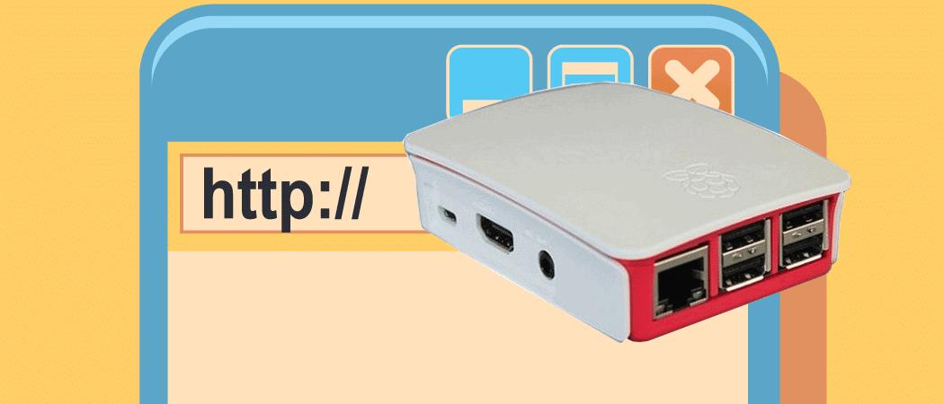 Raspberry Pi Webserver Beitrag