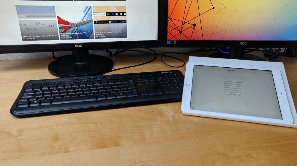 Tablet als Trackpad nutzen