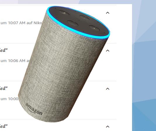 Amazon Alexa Verlauf Beitrag