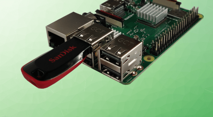 Raspberry Oi mit USB-Stick Beitrag