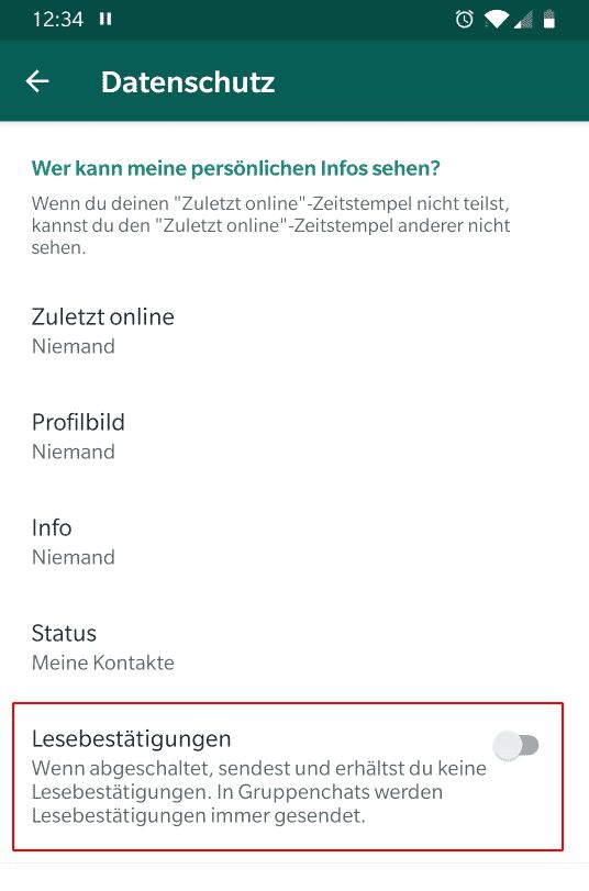 Häkchen blaue bei 2 whatsapp was bedeuten Was bedeutet