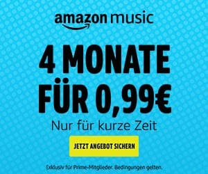 Amazon Music Aktion