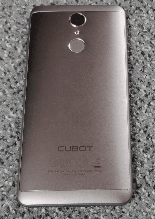 Cubot Nova Rückseite