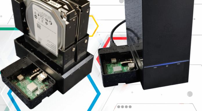 Raspberry Pi Raidbox Beitrag