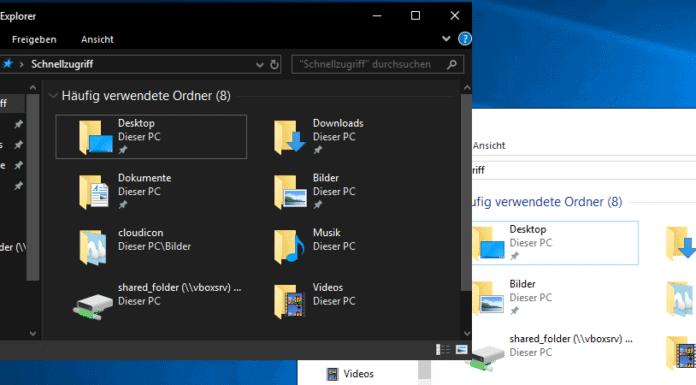 Windows 10 Dark Mode Beitragsbild
