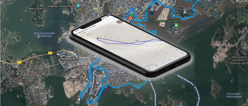 Google Maps und iphone Beitrag