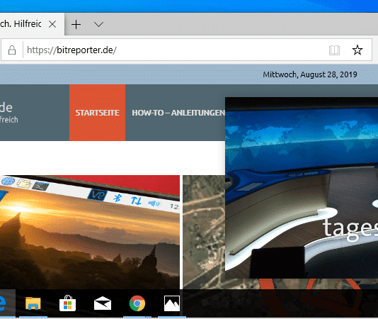 Google Chome Bild-im-Bild Beitrag