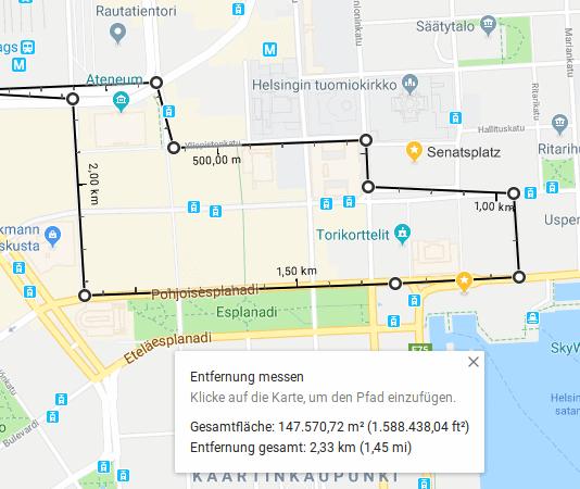 Mit Google Maps Entfernungen messen Beitrag