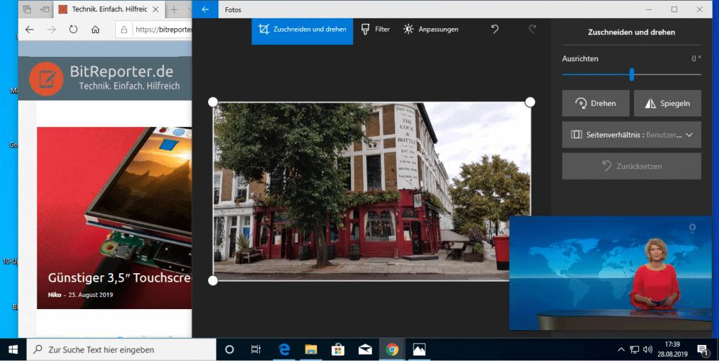 Google Chrome Bild-im-Bild