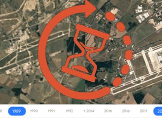 Google Earth Timelapse Beitrag