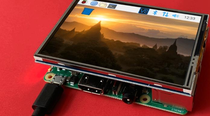 Raspberry Pi 3,5 Zoll Touchscreen Beitrag