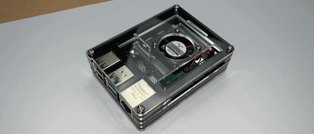 Raspberry Pi 4 Gehäuse mit Lüfter