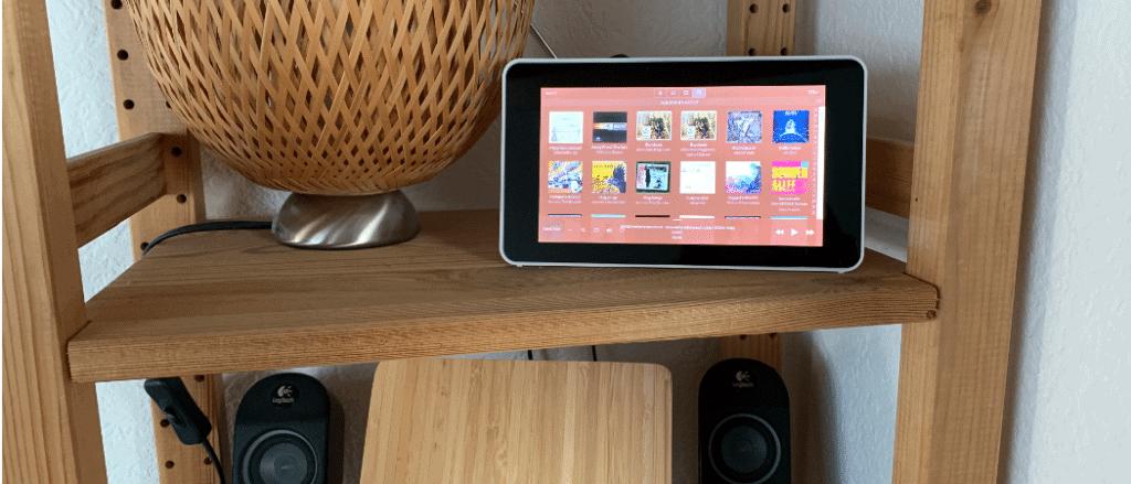 Raspberry Pi offizielles Touchdisplay