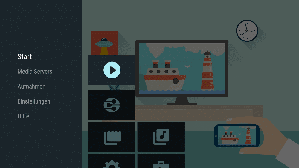 AirScreen App auf dem FireTV
