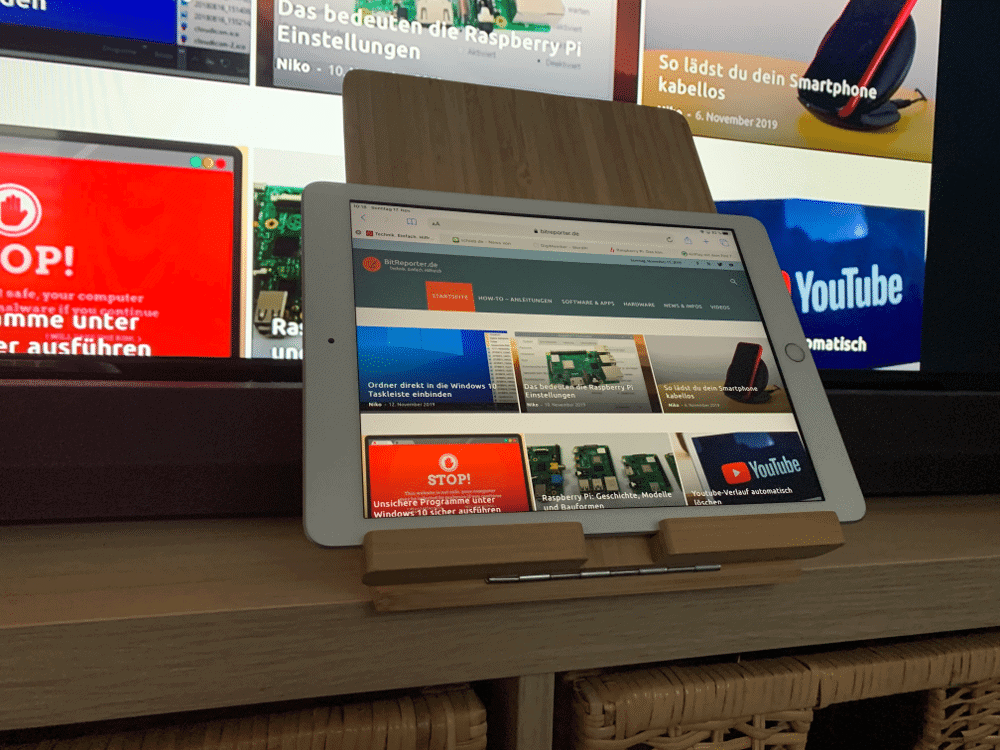 iPad Bildschirm auf FireTV übertragen