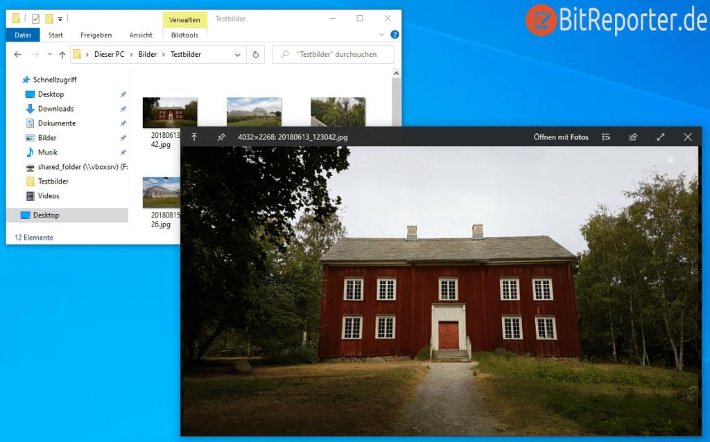Quicklook für Windows 10