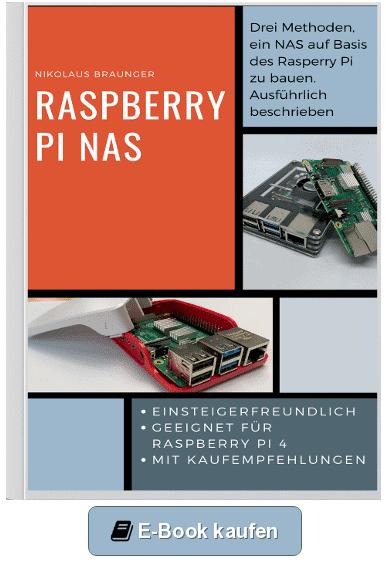 Raspberry Pi NAS - E-Book Cover