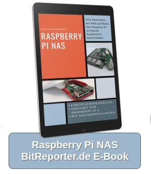 BitReporter.de E-Book Raspberry Pi NAS selber bauen