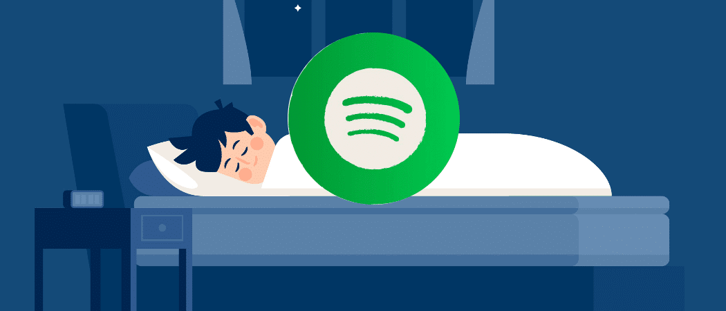 Sleeptimer Spotify