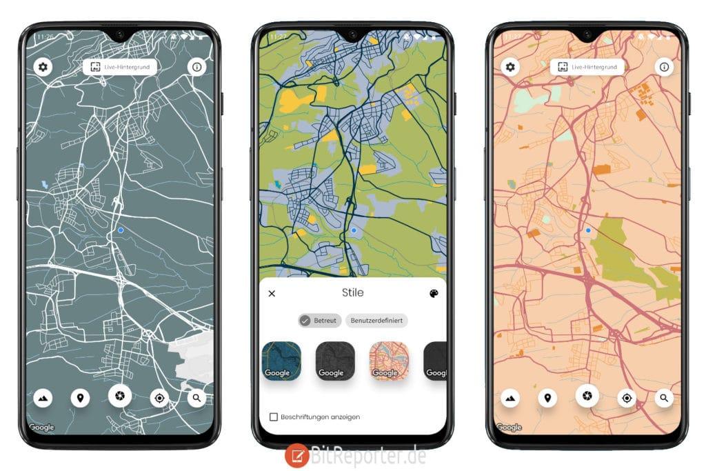 Cartogram Wallpaper App