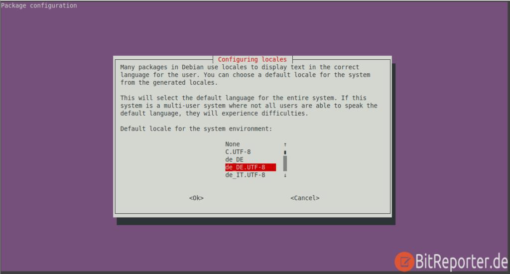 Raspberry Pi mit Ubuntu Sprache auf Deutsch ändern Schritt 1
